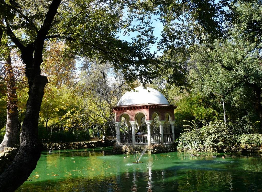 parc de maria luisa a Seville