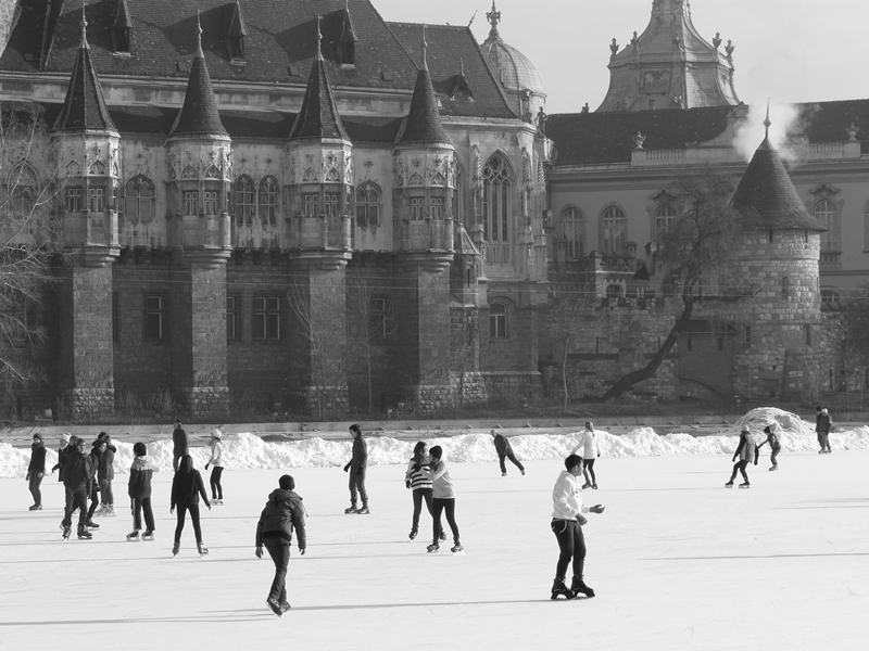 Budapest en hiver - Tracxe ta route