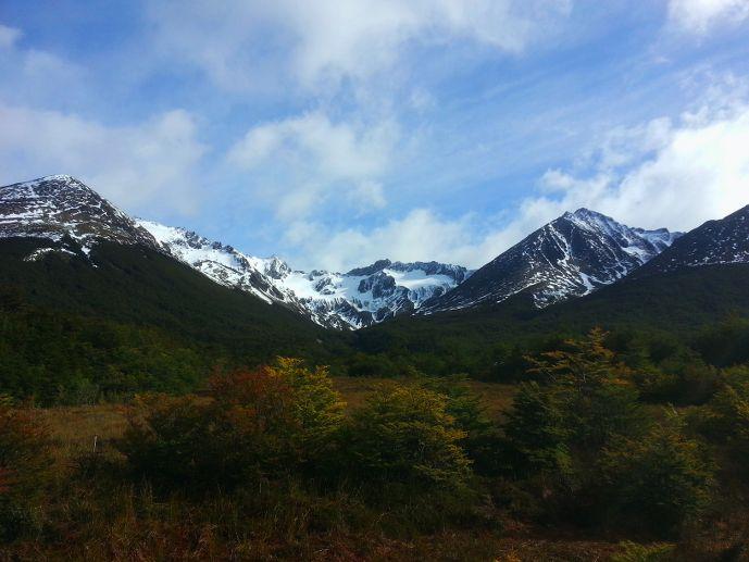 forêt et mont martial près d'Ushuaïa blog voyage