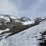 glacier martial à ushuaïa roche et neige blog voyage