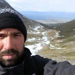 Tristan autour du monde à ushuaïa vue sur la ville