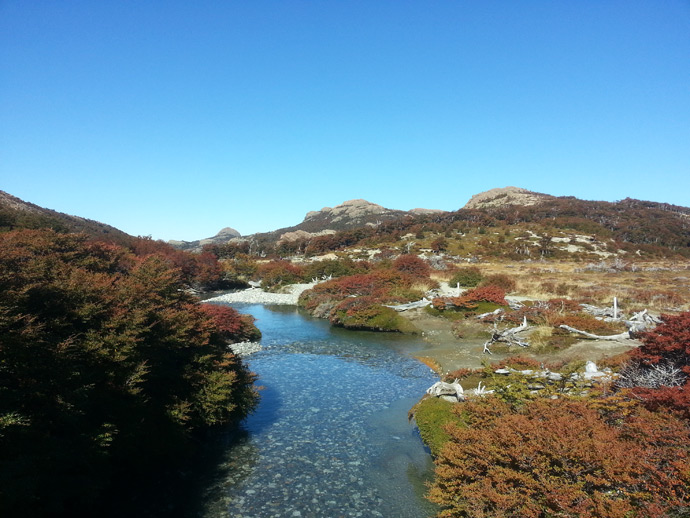 rivière fitz roy blog voyage