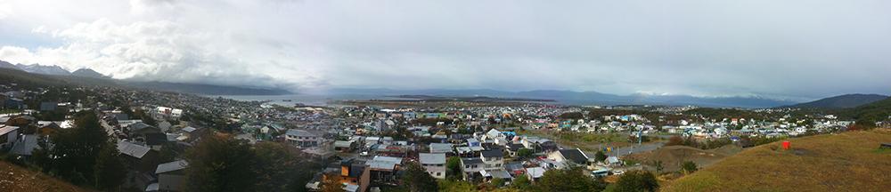 vue panoramique d'Ushuaïa blog voyage