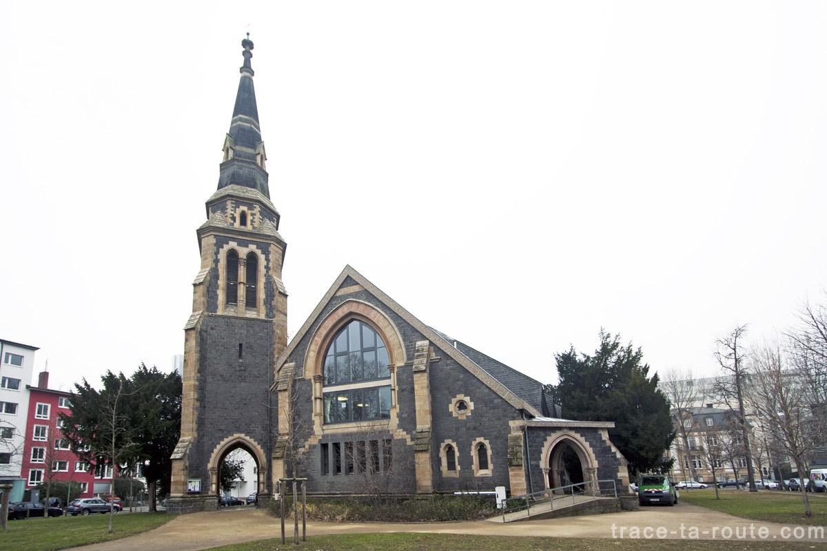 Christuskirche, l'Église du Christ à Francfort