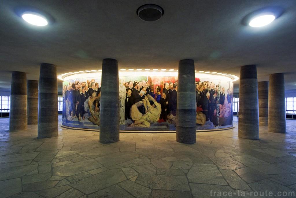 Intérieur de l'Église Saint-Paul de Francfort