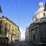 La Via Roma et la Basilique Mauricienne à TURIN