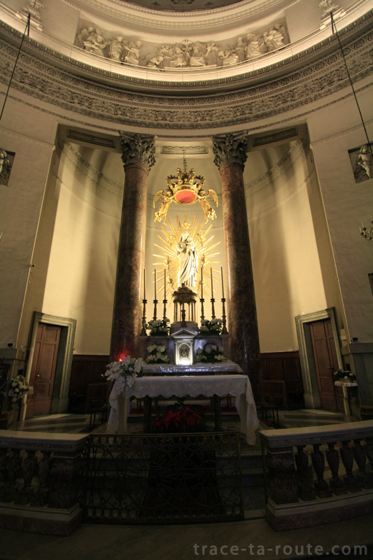 Autel de l'Eglise Gran Madre de Dio de TURIN