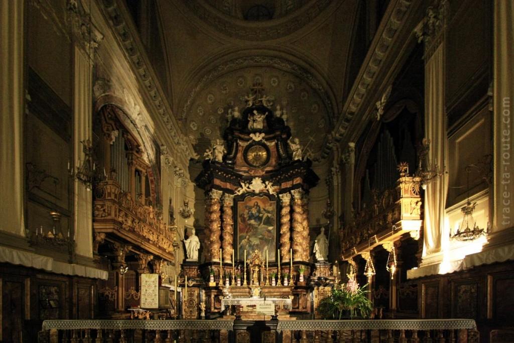 Autel de l'Eglise San Filippo Neri de Turin