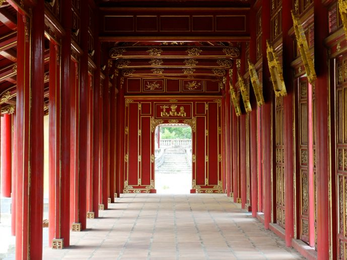 cité impériale hué vietnam blog voyage