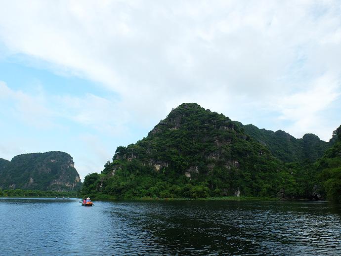 ninh binh paysage bateau vietnam blog voyage