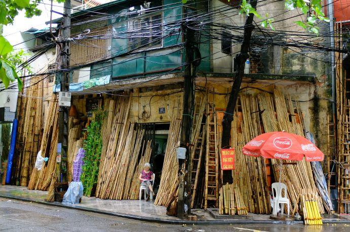 rue du bambou hanoi blog voyage