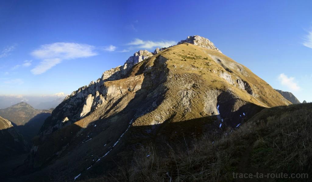 Le Trélod, dans le Massif des Bauges