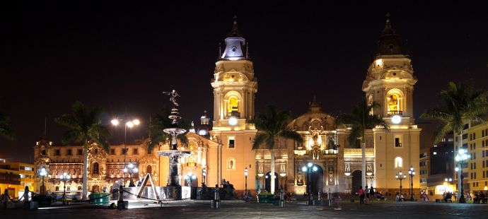 incontournables au Pérou - Lima, quartier colonial et cathédrale