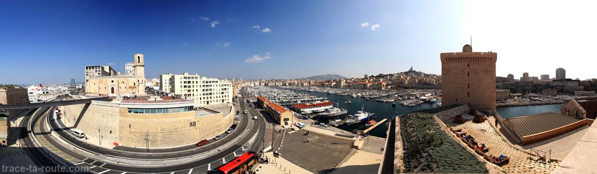 Visite du mucem architecture du bijou de marseille et du - Parking vieux port fort saint jean marseille ...