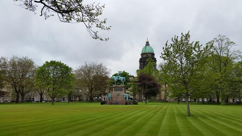 circuit en Ecosse : New Town à Edimbourg