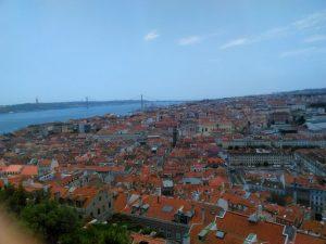 vue sur Lisbonne depuis le château Sao Jorge