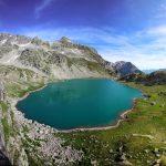Le Lac de la Sagne, le Pic des Eustaches et le Pic Bunard - Lacs des 7 Laux Belledonne