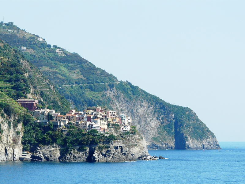 Village des Cinque Terre ou 5 terre en Italie