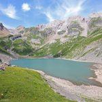 Le Lac de la Vogealle et les Dents Blanches