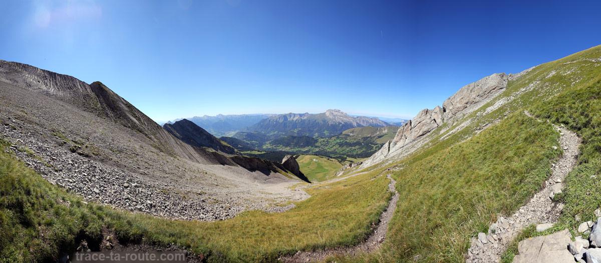 Le pierrier du Mont Charvin
