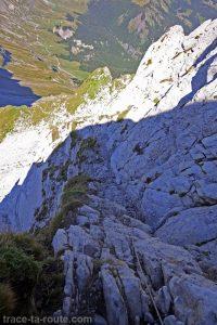 Via ferrata d'Ugine, arête du Pas de l'Ours du Mont Charvin
