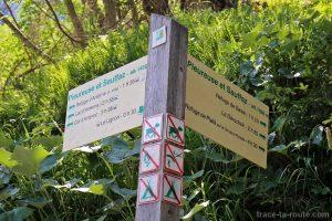 Sentier de randonnée à Sixt-Fer-à-Cheval