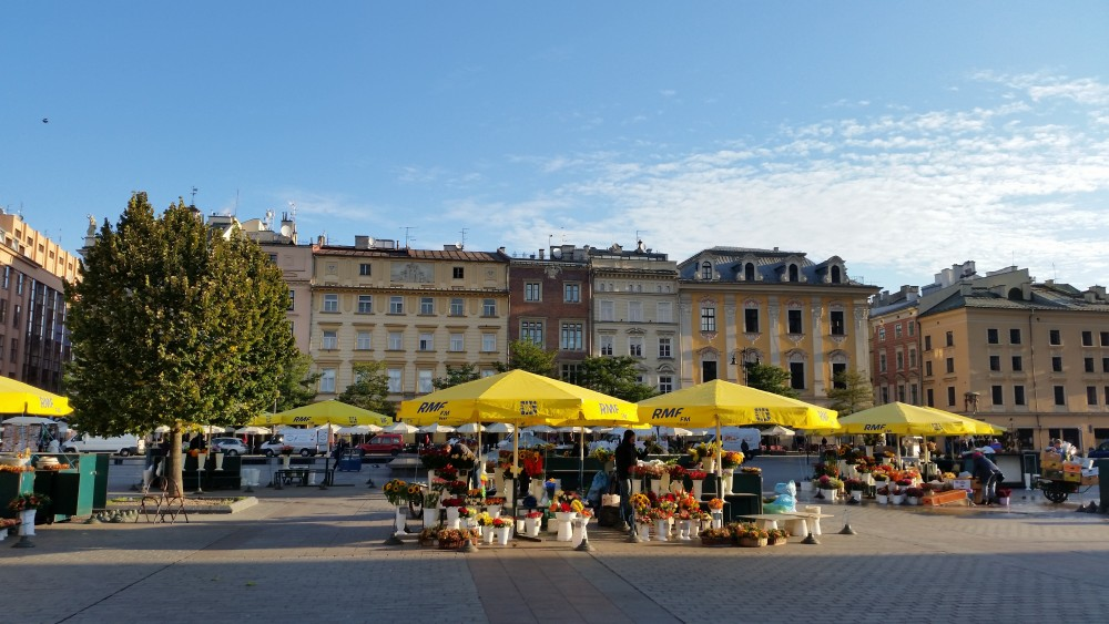 Grand Place de Cracovie