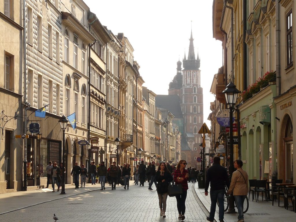cracovie vieille ville