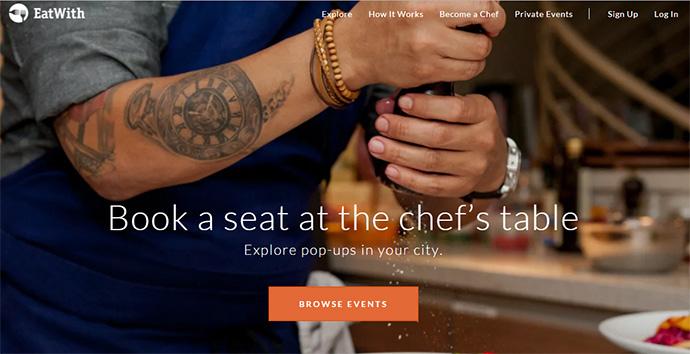 manger avec un local en voyage - EatWith - blog voyage trace ta route