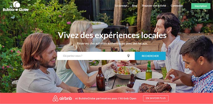 rencontrer les locaux en voyage - bubble globe - blog voyage trace ta route