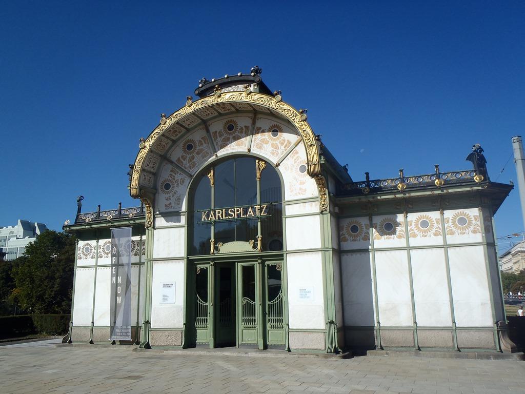 Metro Karlsplatz - Vienne - Art Nouveau