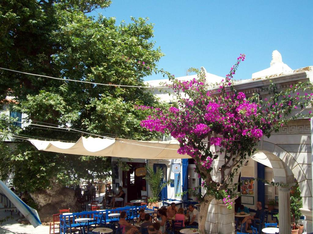 Village de Volax à TInos - Blog voyages