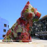 """""""Puppy"""" (1992) Jeff KOONS - Musée Guggenheim Bilbao"""