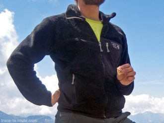 Test Polaire Homme Monkey 200M Mountain Hardwear