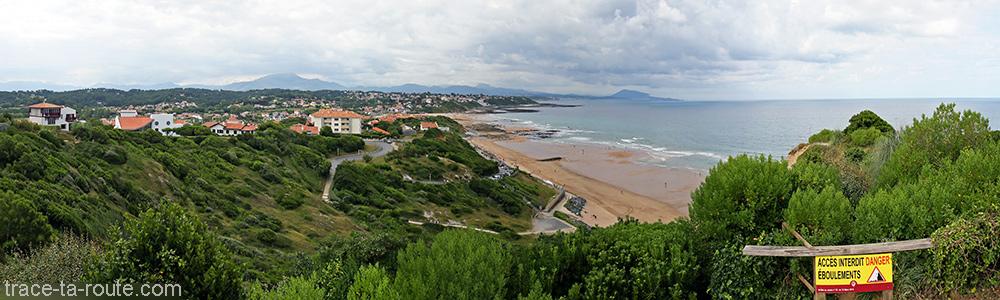 Plage de Bidart au Pays Basque