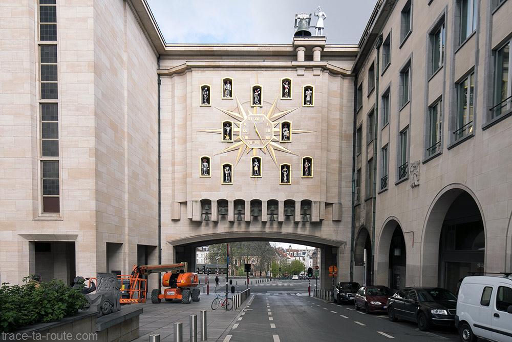 Le Carillon du Mont des Arts à Bruxelles