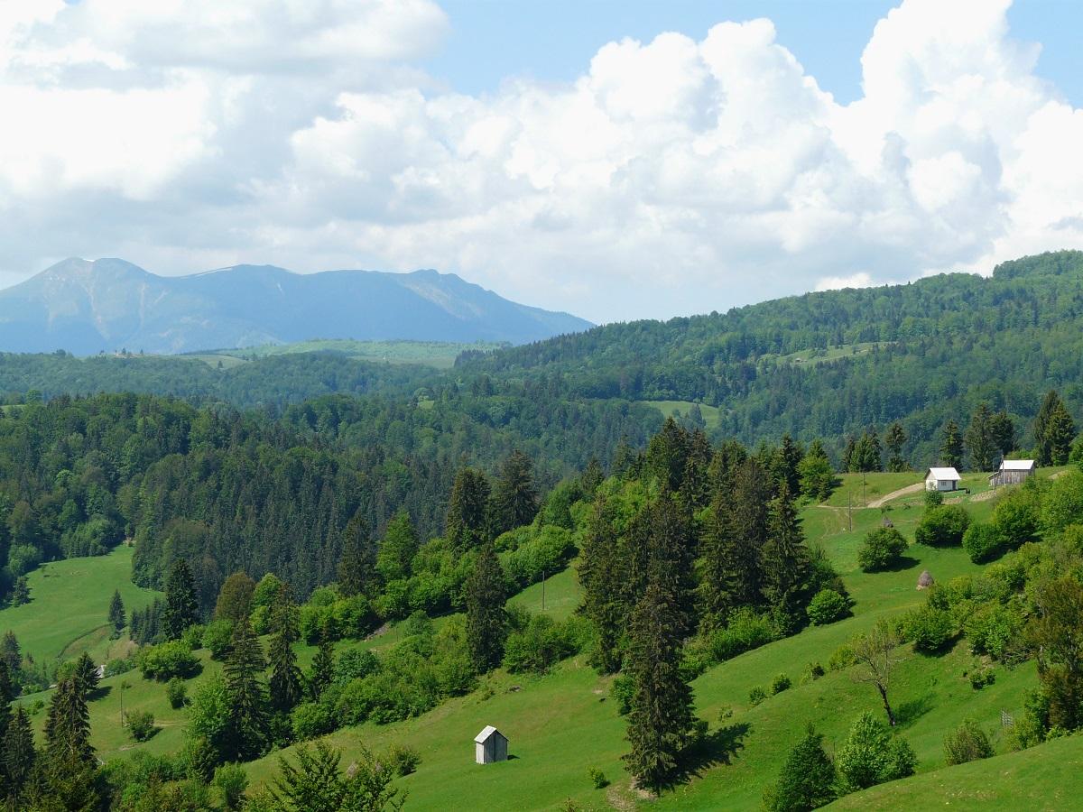 Paysage des carpates - Roumanie - blog voyages