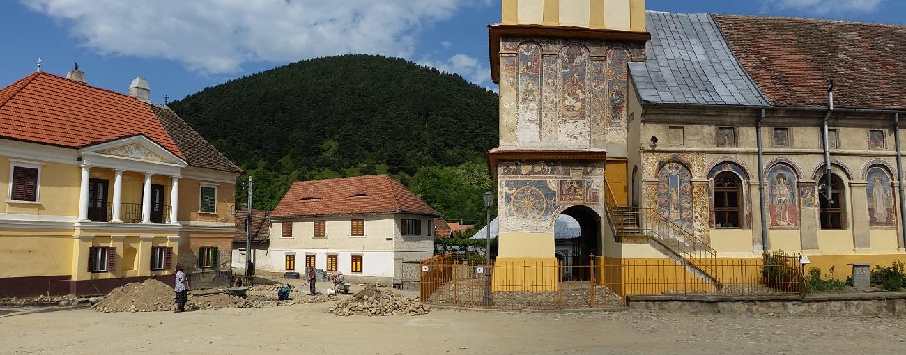 Rasinari près de Sibiu en Transylvanie