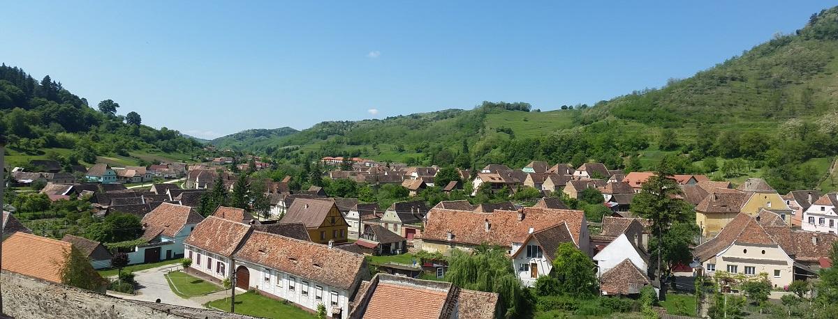 Village de Biertan - Roumanie