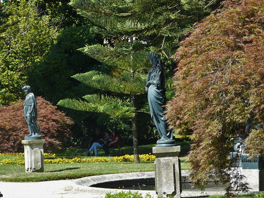Jardim das virtudes à Porto