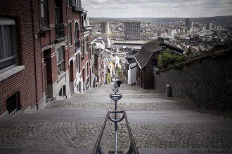 Escaliers Montagne de Bueren, Liège © L'Oeil d'Édouard