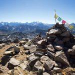Cairn au sommet du Mont Thabor