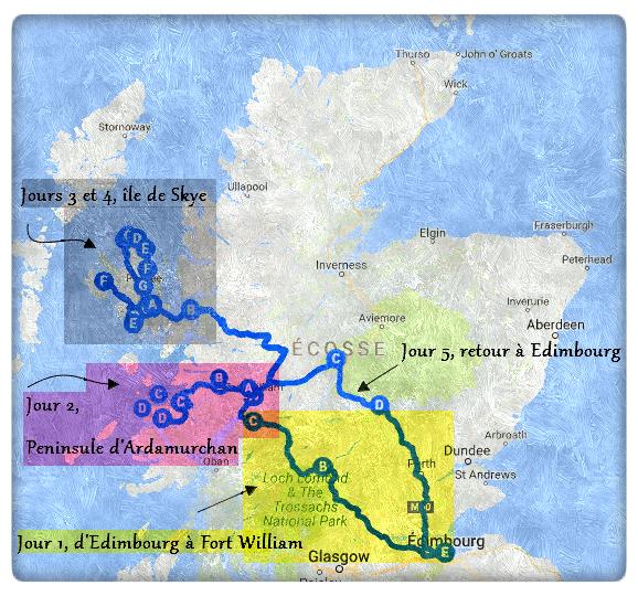 Bien-aimé Une semaine en Ecosse, itinéraire des Highlands à Skye - Blog  MF56