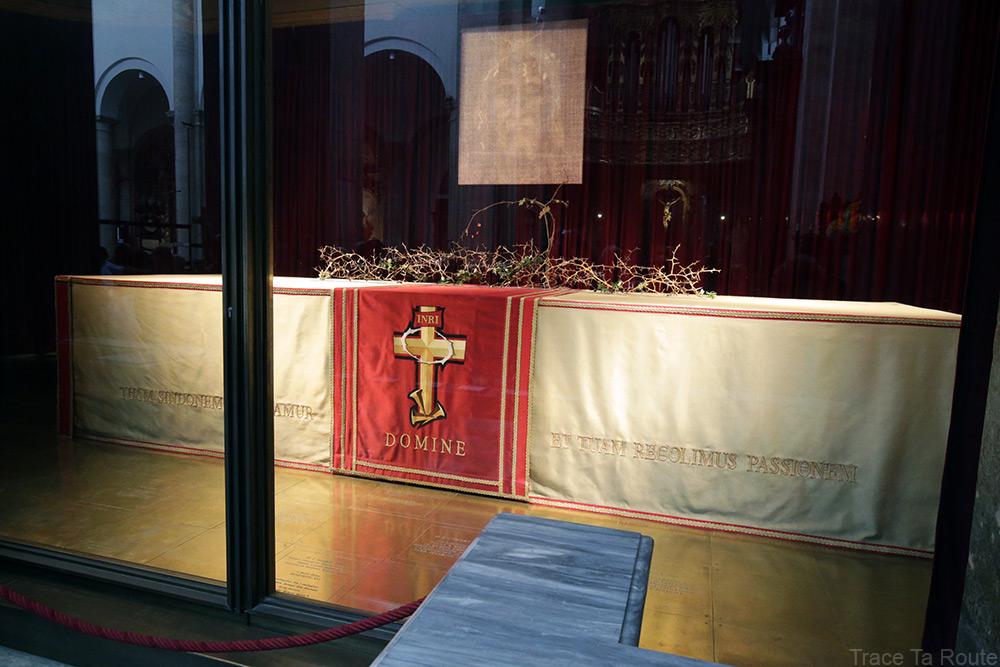 Reliquaire Saint-Suaire de Turin - Intérieur Cathédrale Saint-Jean-Baptiste Duomo di Torino