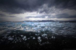 Icebergs sur le lac de Jokulsarlon, Islande © L'Oeil d'Édouard