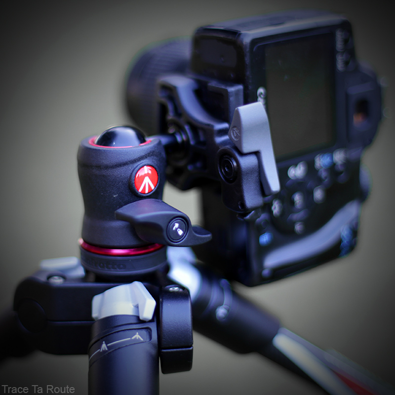 Trépied Befree Manfrotto - kit rotule ball