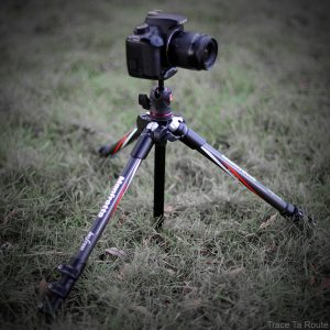 Trépied Befree Manfrotto en carbone