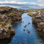 Canyon Silfra dans le Parc National de Þingvellir en Islande © Diego Delso