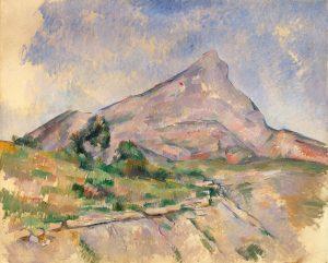 La Montagne Sainte-Victoire (1897-1898) Paul CÉZANNE