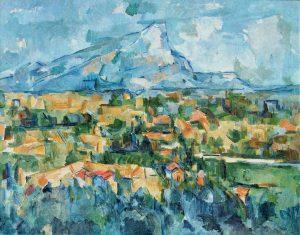 La Montagne Sainte-Victoire (1904) Paul CÉZANNE